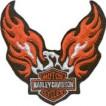 Термонаклейка -0352 Орел Harley - Davidson вышивка