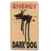 Термонаклейка -0936 Черный пес вышивка