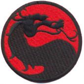 Термонаклейка -1092 Дракон вышивка
