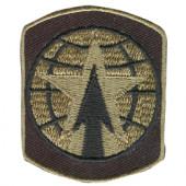 Термонаклейка -1315 16-я Бригада Военной Полиции вышивка