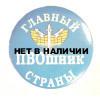 Значок сувенирный № 98 Главный ПВОшник страны полиамид