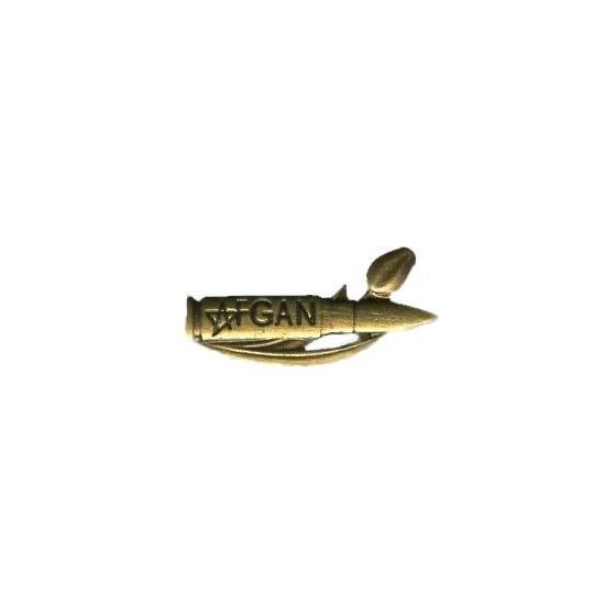 Миниатюрный знак Пуля Афган металл