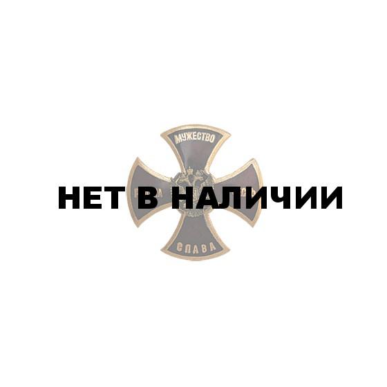 Нагрудный знак Родина,мужество, честь,слава красный металл