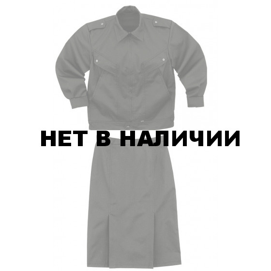 Комплект Охранник женский черный гретта
