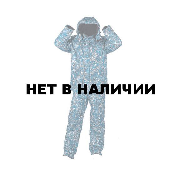 Костюм зимний УРАЛ-Комфорт серо-голубая цифра