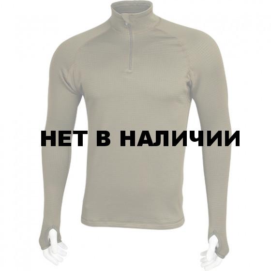 Термобелье футболка L/S Tactigrid tobacco