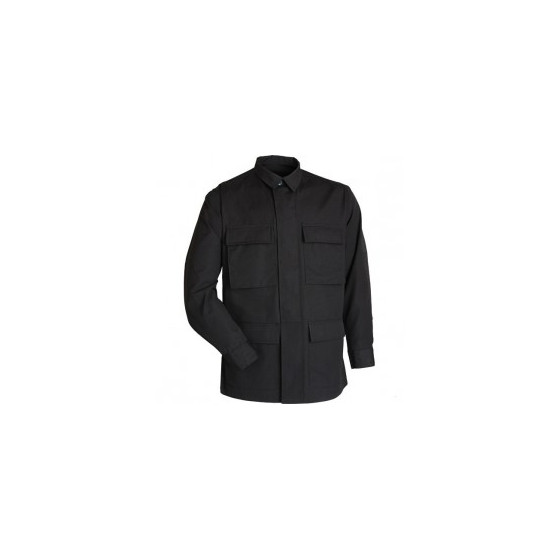 Куртка летняя BDU strong черный рип-стоп