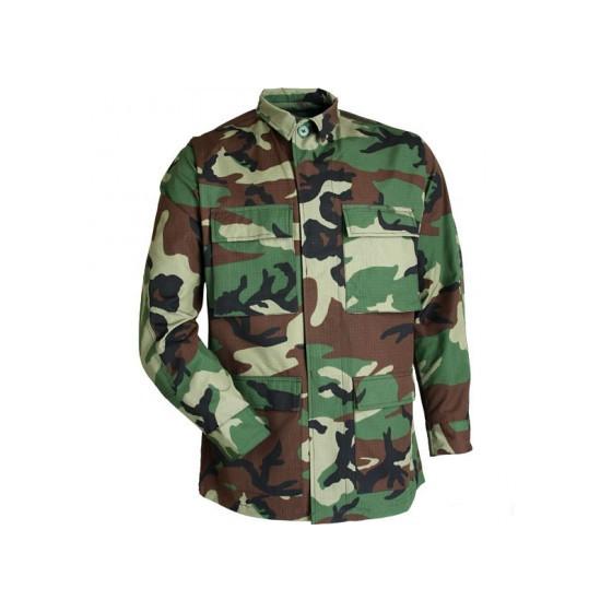 Куртка летняя BDU strong woodland рип-стоп