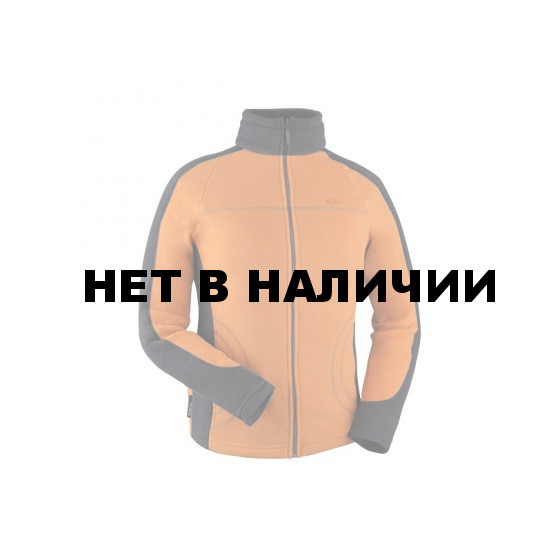 Куртка женская Lissa Polartec 100 carrot/black