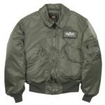 Куртка CWU 45-P Sage Green Alpha Industries