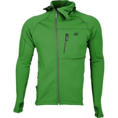 Куртка Island Polartec Power Stretch с капюшоном grass