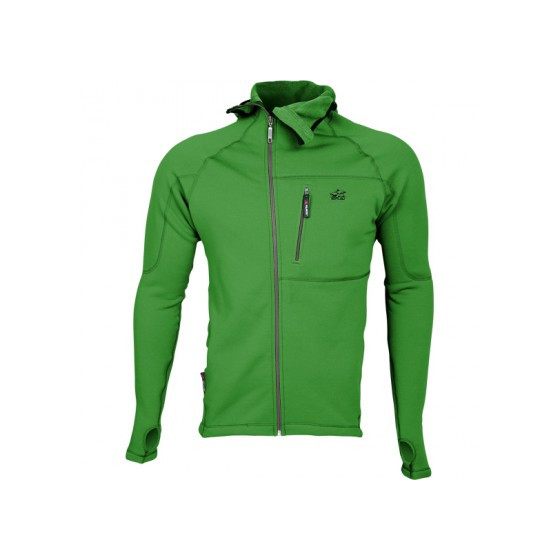 Куртка Island Polartec Power Stretch с капюшоном grass