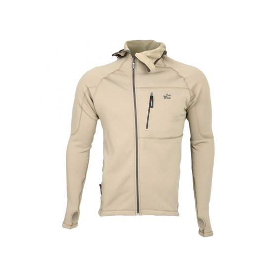Куртка Island Polartec Power Stretch с капюшоном песок