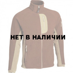 Куртка Macalu 2-цветная Polartec root bear / песок