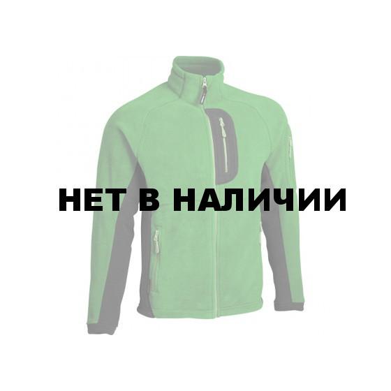 Куртка Macalu 2-цветная Polartec grass / black