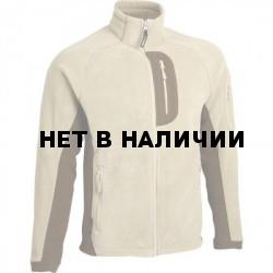 Куртка Macalu 2-цветная Polartec песок / dark brown