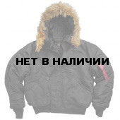 Куртка N-2B Short Waist Parka Black Alpha Industries