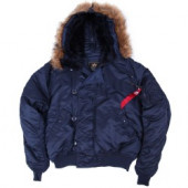 Куртка N-2B Short Waist Parka Replica Blue Alpha Industries