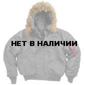 Куртка N-2B Short Waist Parka Gun Metal Alpha Industries
