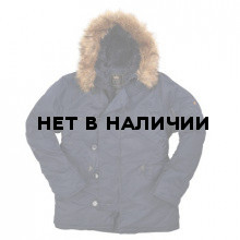 Куртка N-3B Parka Replica blue Alpha Industries
