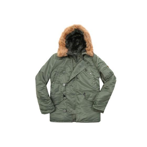 Куртка N-3B Parka Sage Green Alpha Industries