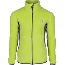 Куртка Sunny Polartec 200 lime/grey