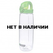 Бутылка Nalgene OTF CLEAR W/GREEN CAP