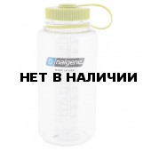 Бутылка Nalgene WM 1 QT CLEAR W/GREEN LID