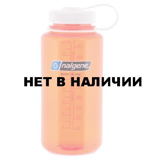 Бутылка Nalgene WM 1 QT ORANGE W/WHITE LID