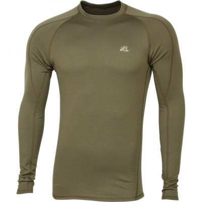 Термобелье футболка L/S Active Polartec Thermal Grid light tobacco