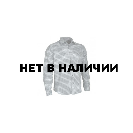 Рубашка фланелевая Check черная клетка