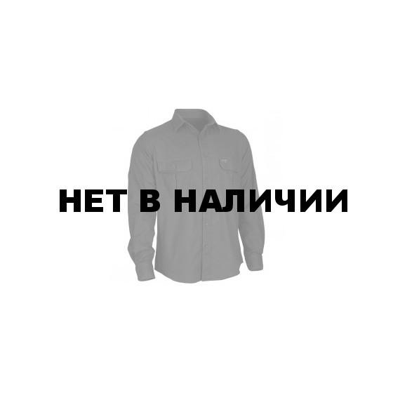 Рубашка фланелевая Plain черная