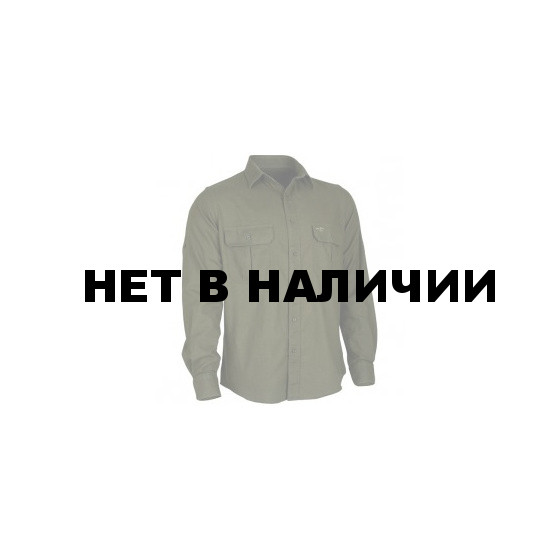 Рубашка фланелевая Plain хаки