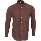 Рубашка Polartec Classic Micro коричневая