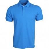 Рубашка Поло Классика голубая