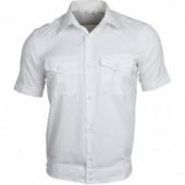 Рубашка форменная, короткий рукав, белая