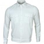 Рубашка форменная, длинный рукав, белая