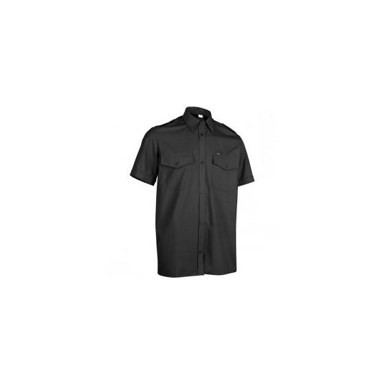 Рубашка Охранник, короткий рукав, черная