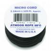 Паракорд Atwoodrope 1.18мм х 125 Micro Cord 38м fireball