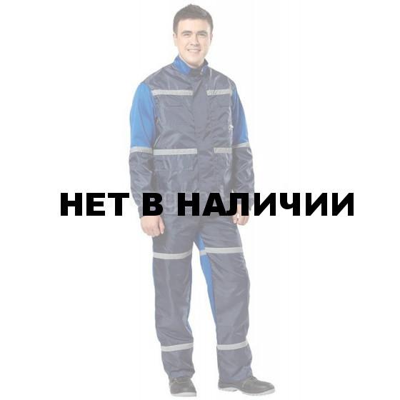 Костюм Автотехник цвет василек+синий