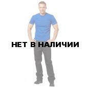 Футболки мужские, к/р, 160гр/м.кв., 100% хлопок (цв. св. васил.)