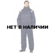 Костюм Авангард утепленный синий+красный (ткань Гретта)