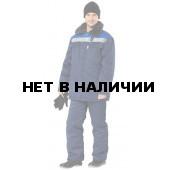 Костюм Легион утепленный (темно-синий+васильковый)
