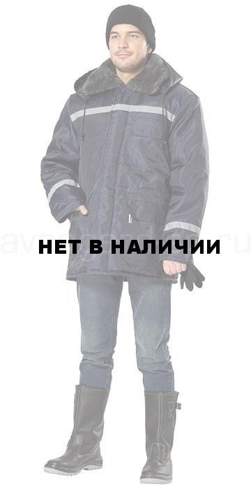Куртка Север утепленная (темно-синяя) da11533ab1fb3