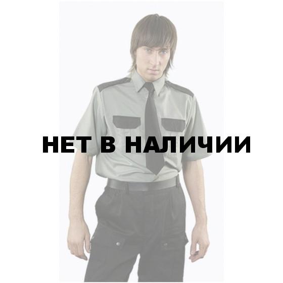 Рубашка охранника, короткий рукав, цвет зеленый