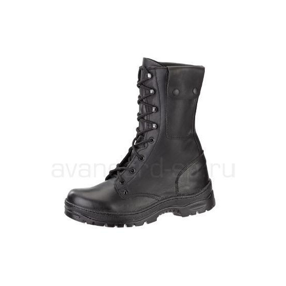 Ботинки АС-2, хром, карман, натуральный мех