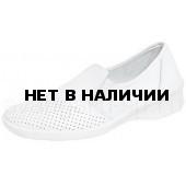 Туфли женские Медистеп, мелкая перфорация, ПУ
