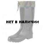 Сапоги ПВХ мужские, надставка, камуфляж