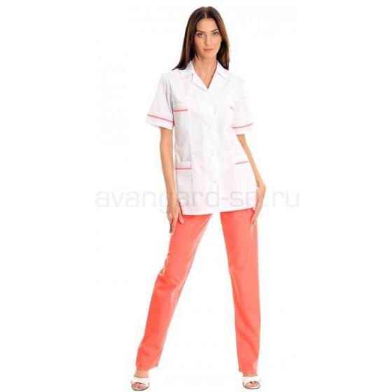 Комплект одежды медицинской женской Юность(блуза и брюки)