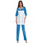 Комплект одежды медицинской женской Дельта(блуза и брюки)